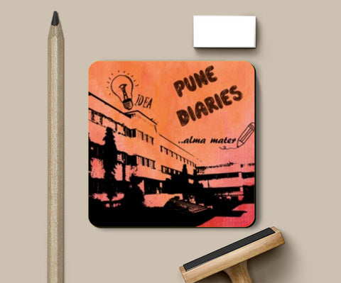 Coasters, Pune Diaries 6 Coasters | Artist : Mosaik, - PosterGully