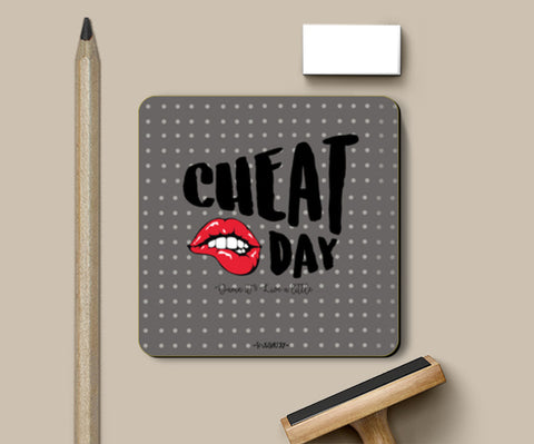 PosterGully Coasters, Cheat Day Coasters | Artist : Soulcurrry, - PosterGully
