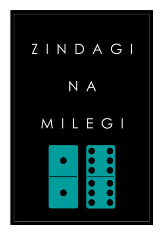 Zindagi Na Milegi 2-12 Domino Wall Art | Artist : Virtual Paintings
