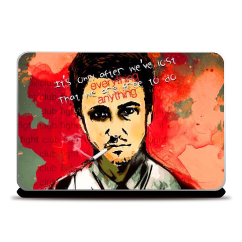 Laptop Skins, Fight Club Laptop Skin | Artist: Kaushal Faujdar, - PosterGully