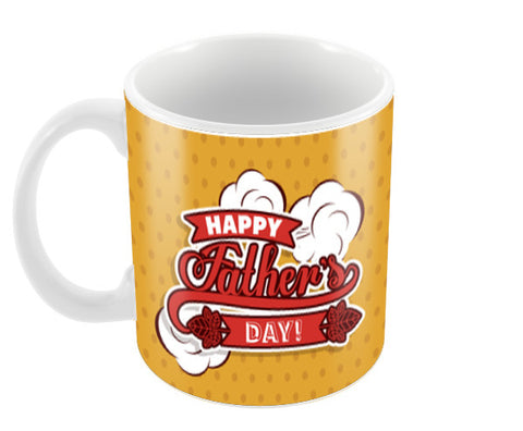 On The Cloud Happy Father's Day Coffee Mugs | Artist : Creative DJ