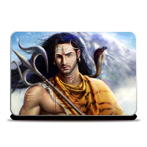 Laptop Skins, Lord Shiva Laptop Skins | Artist : RishabhDev Sharma, - PosterGully