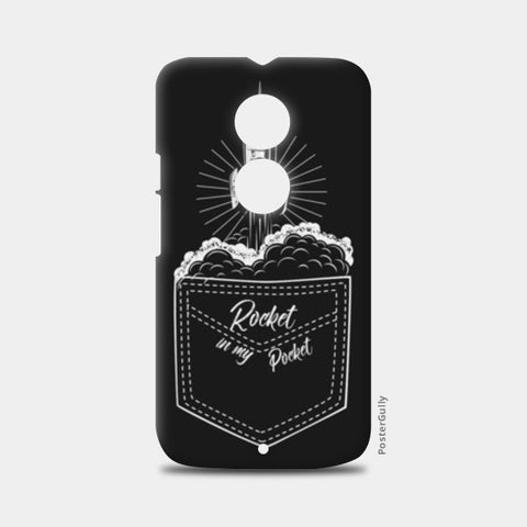 rocket in my pocket Moto X2 Cases | Artist : Himanshu Sood