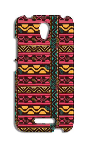 Abstract geometric pattern african style Redmi Note 2 Cases | Artist : Designerchennai