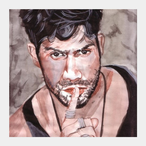 Varun Dhawan Silences His Critics With His Performance Square Art Prints PosterGully Specials