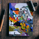Abstract portrait Notebook | Artist : pol ledent