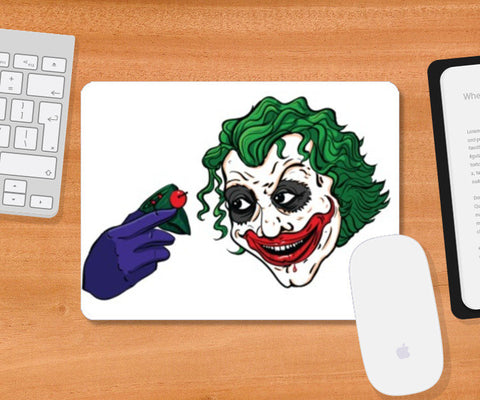 Mousepad, Joker-Paan Mousepad | Artist : Malay Jain, - PosterGully
