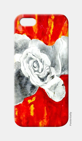 Abstract Rose iPhone 5 Cases | Artist : Ajooni Singh