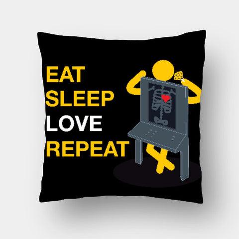 Cushion Covers, Love & Repeat Cushion Cover | Alankar Sudarsan, - PosterGully