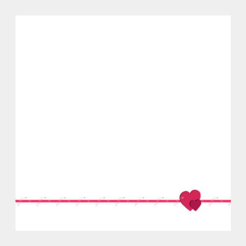 Square Art Prints, Feel My Love (white) Square Art Prints | Artist : Srikanth R, - PosterGully