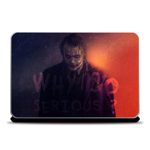 Joker | Why So Serious Laptop Skins | Artist : Vivid Corner