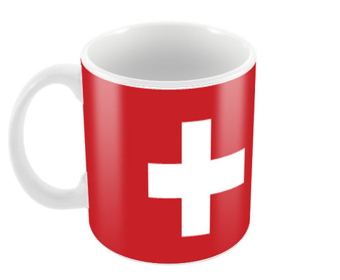 Switzerland | #Footballfan Coffee Mugs | Artist : Creative DJ