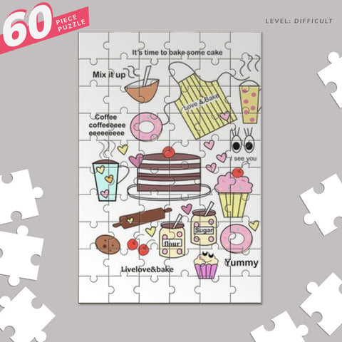Baking = happiness Jigsaw Puzzles | Artist : mytablecreations