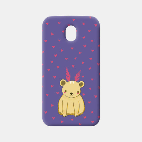 Cute Bear Pattern Moto G3 Cases | Artist : Prajakta Rao