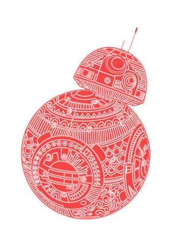 BB8 STAR WARS Wall Art | Artist : GRAFIIKKA