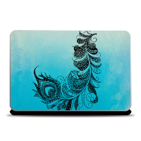 Laptop Skins, Feather Laptop Skin | Svayamkriti, - PosterGully