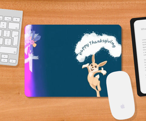 Mousepad, Happy Thanksgiving Mousepad | Artist : Anushree Jaiswal, - PosterGully