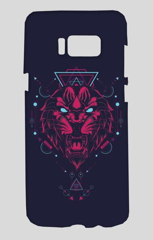 The Tiger Samsung Galaxy S8 Cases | Artist : Inderpreet Singh