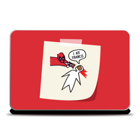 Deadpool Doodle Laptop Skins | Artist : Ronak Mantri