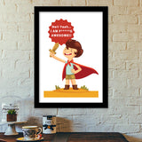 Hell Yeah.. I Am F*****G AWESOME!! Premium Italian Wooden Frames | Artist : Mitali Jadia