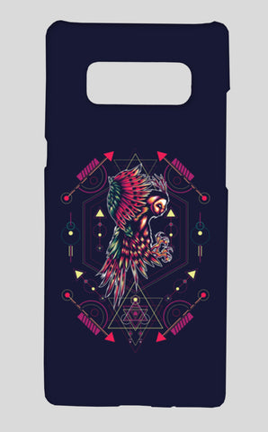 Owl Artwork Samsung Galaxy Note 8 Cases | Artist : Inderpreet Singh