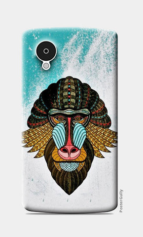 Nexus 5 Cases, baboon case Nexus 5 Cases | Artist : kamal kaur, - PosterGully
