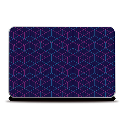 Laptop Skins, Isometric Pattern Laptop Skins | Artist : Jobin Jacob, - PosterGully