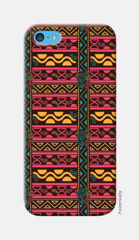 Abstract geometric pattern african style iPhone 5c Cases | Artist : Designerchennai