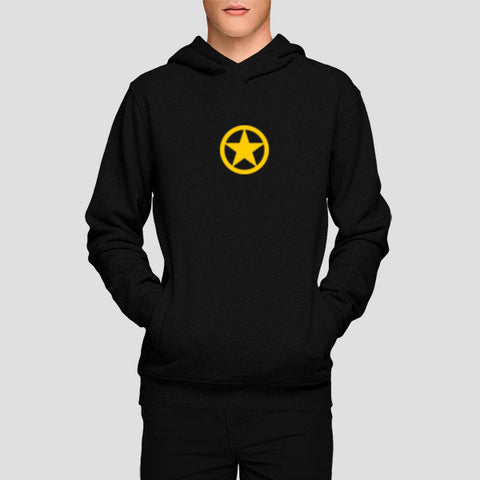 Hoodies, yellow army star Hoodies | Artist : dooo, - PosterGully - 1