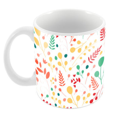 Floral seamless pattern Coffee Mugs | Artist : Designerchennai