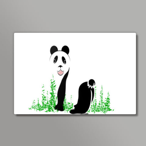 THE PANDA is a symbol of gentleness and strength. it is an auspicious symbol of peace, harmony Metal Prints | Artist : amit kumar