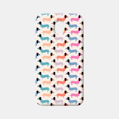Dog seamless pattern Moto G3 Cases | Artist : Designerchennai