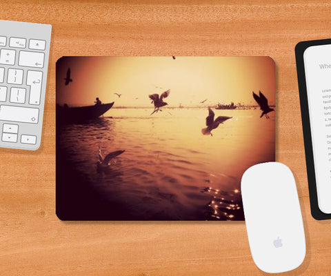 desi morning Mousepad | Artist : Aakarsh Sharma