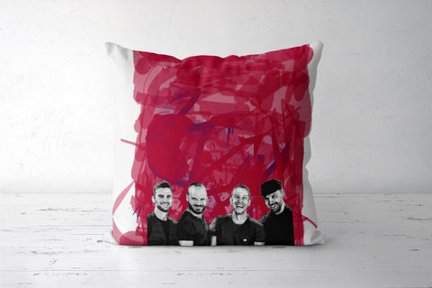 COLDPLAY Cushion Covers | Artist : SREY