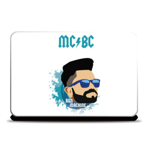 Virat Kohli | MCBC | Illustration Laptop Skins | Artist : Sandeep Narayan