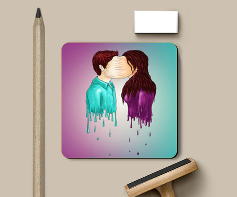 The Kiss Coasters | Artist : Mohammad Azad