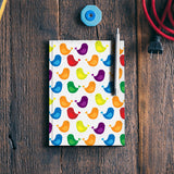 Birds seamless pattern Notebook | Artist : Designerchennai