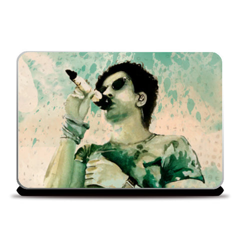 Farhan Aktar| Watercolor | Painting Laptop Skins | Artist : Sandeep Narayan