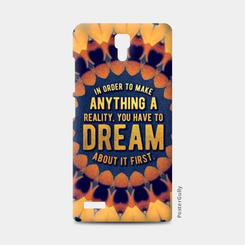 Motivational Quote Redmi Note Cases | Artist : Delusion