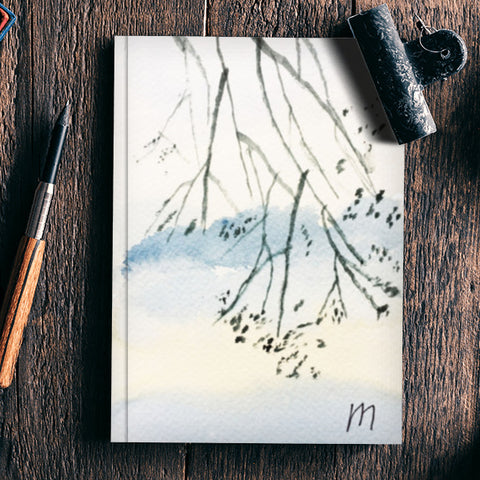 Hanging branch Notebook | Artist : Manas Arvind