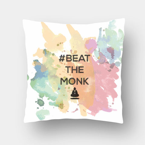 Cushion Covers, #BeattheMonk 2 Cushion Cover | Artist : GamingMonk, - PosterGully