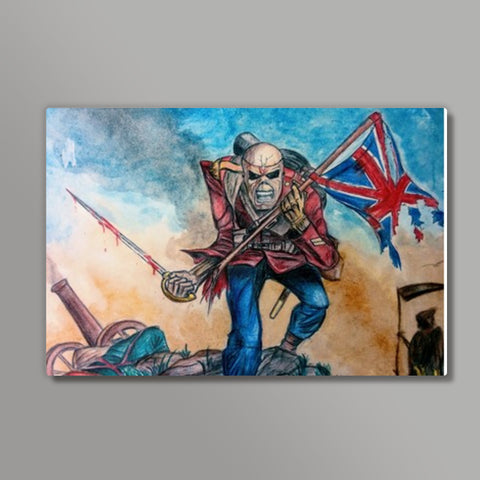 Iron Maiden : The Trooper | Vivek Aind Metal Prints | Artist : Vivek Aind