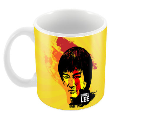 Bruce Lee Coffee Mugs | Artist : Designerchennai