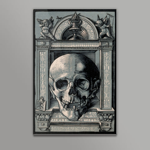 The Glory of Worldly Happiness-Hans Wechtlin  Metal Prints | Artist : Scatterred Partikles