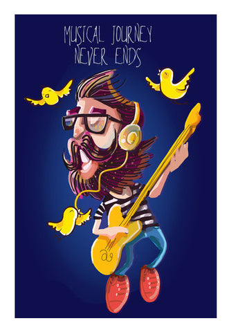 musical journey Wall Art | Artist : abhijeet sinha