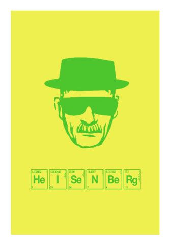 Wall Art, Breaking Bad | Heisenberg Wall Art | Artist: Shivam Dhuria, - PosterGully