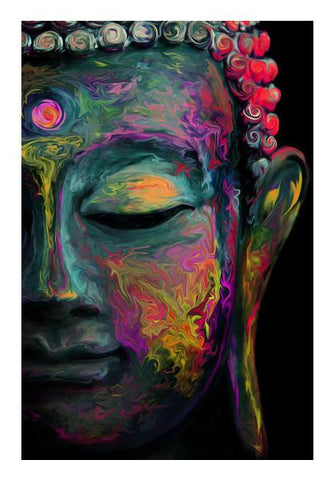 PosterGully Specials, Inner Flame | The mind is everything. What you think you become. | Buddha Wall Art | Artist : I Art You, - PosterGully
