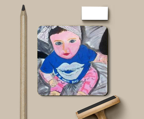 Coasters, New Born Baby Coaster  | Artist : meghna garg, - PosterGully