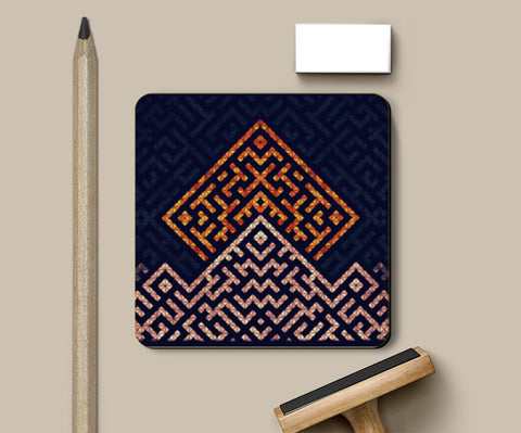 Coasters, Patterns Coasters | Artist : Astha Mathur, - PosterGully