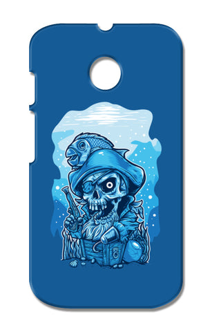 Cartoon Pirates Moto E XT1021 Cases | Artist : Inderpreet Singh